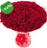 Özel mi Özel buket 101 adet kırmızı gül  Muğla çiçek gönderme