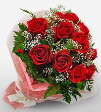 12 adet kırmızı güllerden kaliteli gül  Muğla yurtiçi ve yurtdışı çiçek siparişi