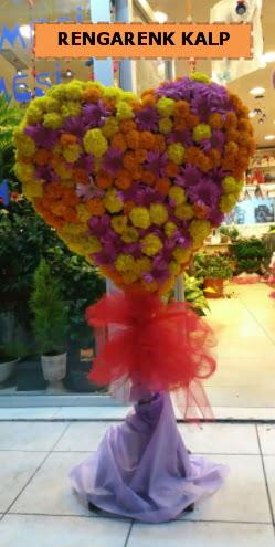 Ankara mevsim çiçeklerinden kalp perförje  Muğla cicekciler , cicek siparisi