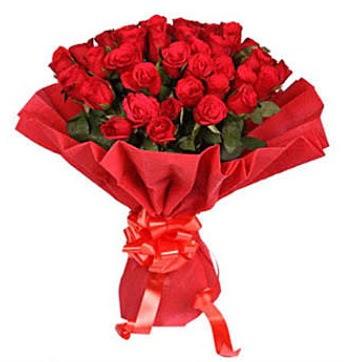 41 adet gülden görsel buket  Muğla uluslararası çiçek gönderme
