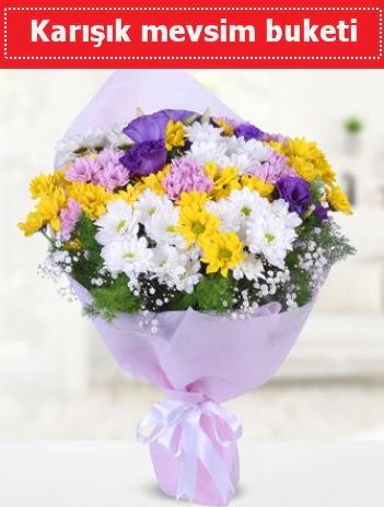 Karışık Kır Çiçeği Buketi  Muğla çiçekçi mağazası