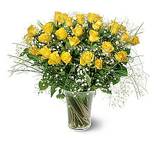 Muğla çiçek servisi , çiçekçi adresleri  15 adet sarigül mika yada cam vazoda