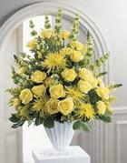 Muğla çiçek servisi , çiçekçi adresleri  sari güllerden sebboy tanzim çiçek siparisi