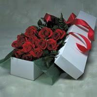 Muğla online çiçekçi , çiçek siparişi  11 adet gülden kutu