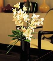 Muğla kaliteli taze ve ucuz çiçekler  cam yada mika vazo içerisinde dal orkide
