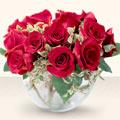 Muğla çiçek satışı  mika yada cam içerisinde 10 gül - sevenler için ideal seçim -