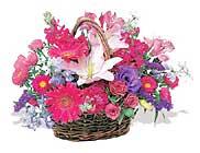 küçük karisik özel sepet   Muğla çiçek satışı