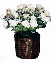 yapay karisik çiçek sepeti   Muğla çiçek yolla , çiçek gönder , çiçekçi