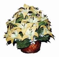yapay karisik çiçek sepeti   Muğla çiçek servisi , çiçekçi adresleri
