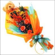ayicik gül ve kir çiçekleri   Muğla çiçek online çiçek siparişi