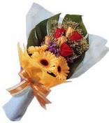 güller ve gerbera çiçekleri   Muğla çiçek siparişi vermek