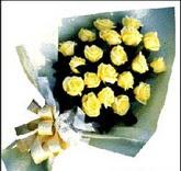 sari güllerden sade buket  Muğla 14 şubat sevgililer günü çiçek