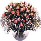 büyük cam fanusta güller   Muğla online çiçek gönderme sipariş