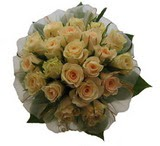 12 adet sari güllerden buket   Muğla çiçek gönderme sitemiz güvenlidir