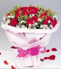Muğla çiçek mağazası , çiçekçi adresleri  12 ADET KIRMIZI GÜL BUKETI