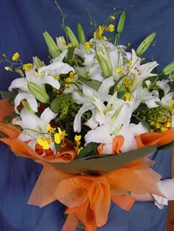 Muğla çiçek mağazası , çiçekçi adresleri  5 ADET KAZABLANKA BUKETI KALITEDEN SASMAYANLARA