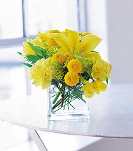 Muğla anneler günü çiçek yolla  sarinin sihri cam içinde görsel sade çiçekler