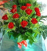 12 adet gül buketi  Muğla çiçek gönderme