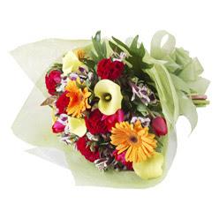 karisik mevsim buketi   Muğla internetten çiçek satışı