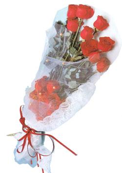 11 adet kirmizi güller buket tanzimi   Muğla çiçek servisi , çiçekçi adresleri