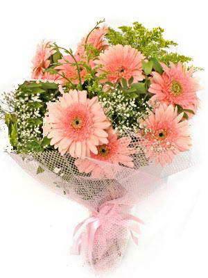 Muğla uluslararası çiçek gönderme  11 adet gerbera çiçegi buketi