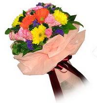 Muğla çiçek online çiçek siparişi  Karisik mevsim çiçeklerinden demet