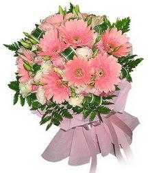 Muğla İnternetten çiçek siparişi  Karisik mevsim çiçeklerinden demet