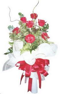 Muğla çiçek servisi , çiçekçi adresleri  7 adet kirmizi gül buketi