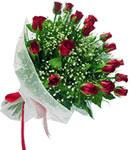 Muğla çiçek mağazası , çiçekçi adresleri  11 adet kirmizi gül buketi sade ve hos sevenler