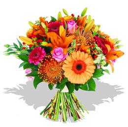 Muğla cicekciler , cicek siparisi  Karisik kir çiçeklerinden görsel demet