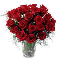 Muğla çiçek siparişi vermek  11 adet kirmizi gül cam yada mika vazo içerisinde