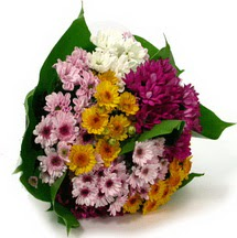 Muğla cicekciler , cicek siparisi  Karisik kir çiçekleri demeti herkeze