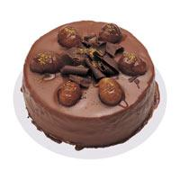 Kestaneli çikolatali yas pasta  Muğla 14 şubat sevgililer günü çiçek