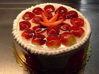 Meyvali yas pasta 4 ile 6 kisilik pasta  Muğla çiçek servisi , çiçekçi adresleri