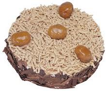 Kestahaneli yas pasta 4 ile 6 kisilik pasta  Muğla çiçek servisi , çiçekçi adresleri