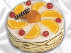 lezzetli pasta satisi 4 ile 6 kisilik yas pasta portakalli pasta  Muğla çiçek online çiçek siparişi