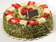 pasta gönder  4 ile 6 kisilik karisik meyvali yas pasta  Muğla güvenli kaliteli hızlı çiçek