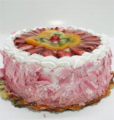 görsel pastacilar 4 ile 6 kisilik yas pasta karisik meyvali  Muğla çiçek satışı