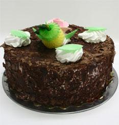 4 ile 6 kisilik yas pasta çikolatali leziz pastane ürünü  Muğla İnternetten çiçek siparişi