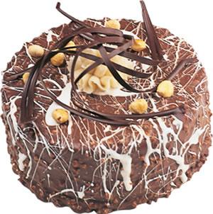 pasta satisi 4 ile 6 kisilik çikolatali yas pasta  Muğla internetten çiçek siparişi