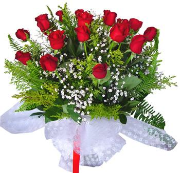 11 adet gösterisli kirmizi gül buketi  Muğla çiçek mağazası , çiçekçi adresleri