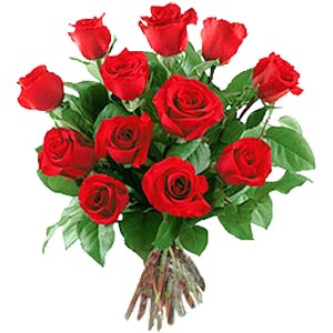 11 adet bakara kirmizi gül buketi  Muğla çiçekçi mağazası