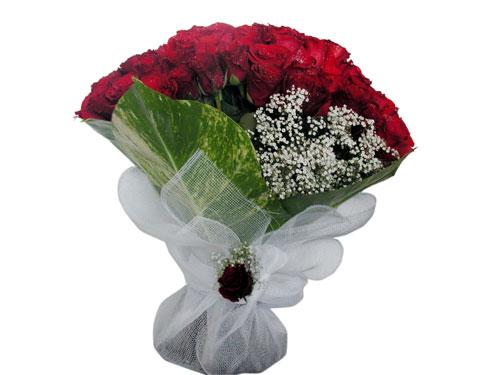 25 adet kirmizi gül görsel çiçek modeli  Muğla çiçek , çiçekçi , çiçekçilik