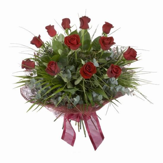 Etkileyici buket 11 adet kirmizi gül buketi  Muğla çiçek mağazası , çiçekçi adresleri