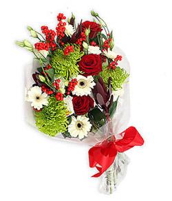 Karisik mevsim buketi çiçek tanzimi  Muğla güvenli kaliteli hızlı çiçek