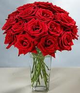 Muğla çiçek online çiçek siparişi  cam vazoda 11 kirmizi gül  Muğla çiçekçi telefonları