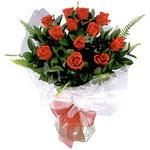 Muğla 14 şubat sevgililer günü çiçek  9 adet güzel bir gül buketi