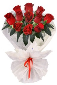 11 adet gül buketi  Muğla güvenli kaliteli hızlı çiçek  kirmizi gül