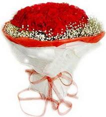 Muğla kaliteli taze ve ucuz çiçekler  41 adet kirmizi gül buketi