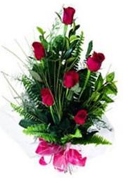Muğla çiçekçi mağazası  5 adet kirmizi gül buketi hediye ürünü